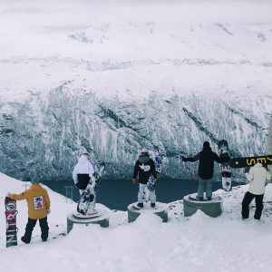 Snowboarding in Sweden